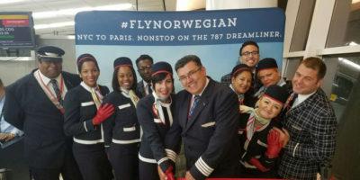 Norwegian flyger numera mellan Frankrike och USA