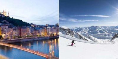 Direkt till Lyon och Alperna från Arlanda