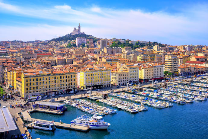 Air France flyger till Marseille från Stockholm